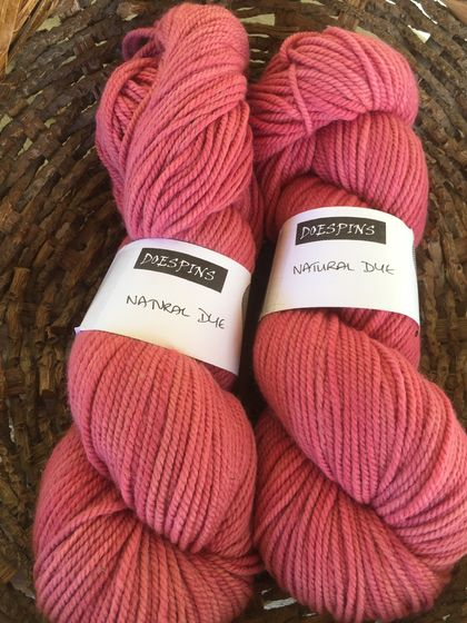 8ply NZ merino naturally dyed yarn