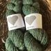 NZ wool and silk handspun yarn