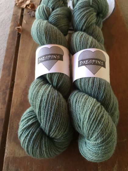 4ply Natural dyed NZ merino wool