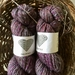 NZ wool and silk handspun yarn