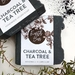 Handmade Vegan Soaps - Charcoal & Tea Tree