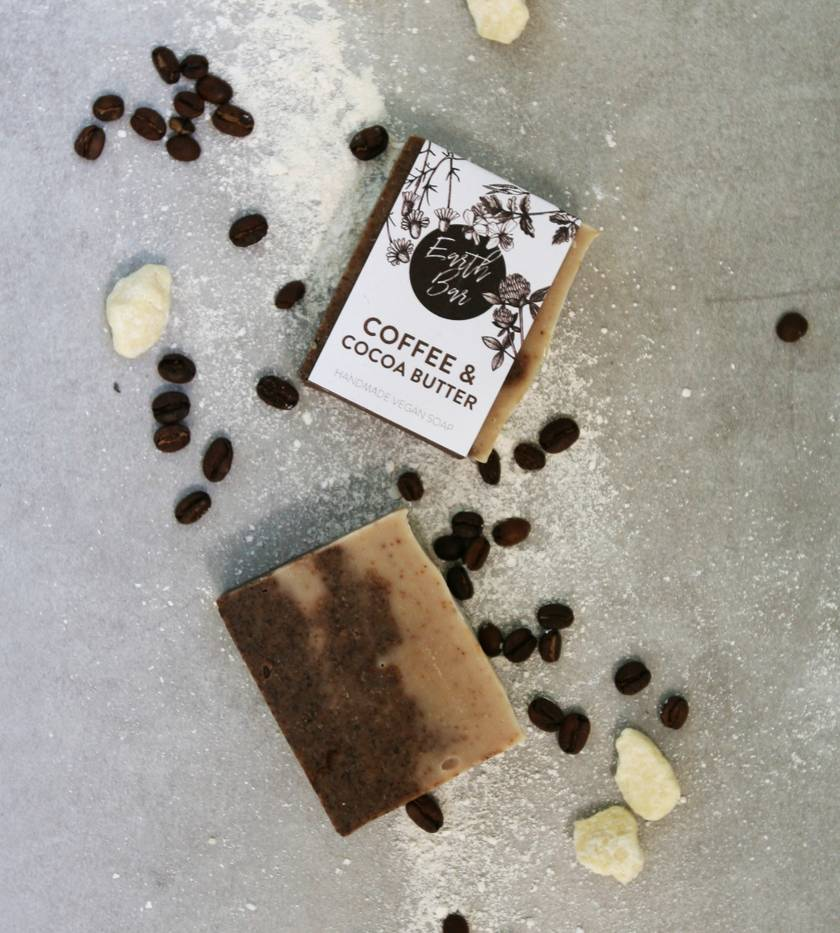 Handmade Vegan Soap - Coffee & Cocoa Butter