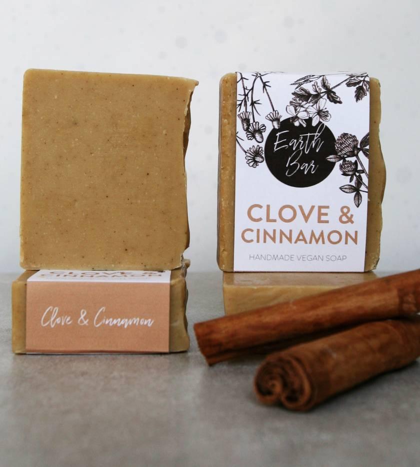 Handmade Vegan Soaps - Cinnamon & Clove