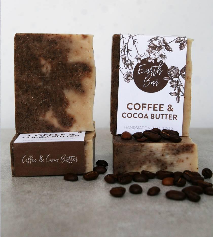 50 x Handmade Vegan Soaps - Coffee & Cocoa Butter