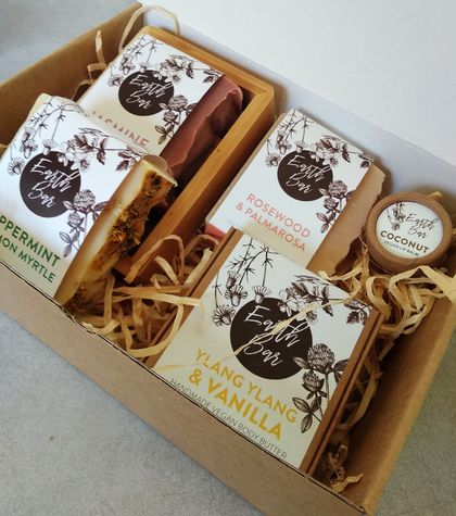 Handmade Vegan Soap - Gift Box