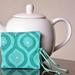 Tea Bag Wallet - Turquoise