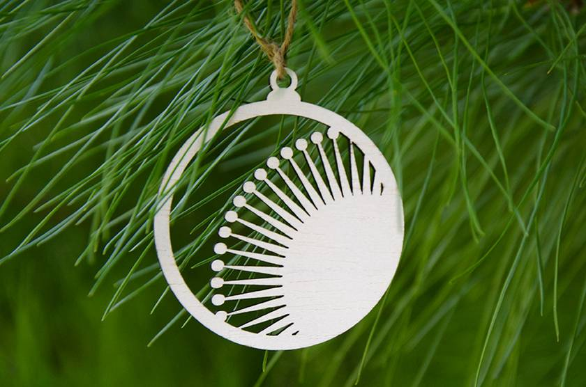 Wooden Christmas Tree Decorations (Combo)