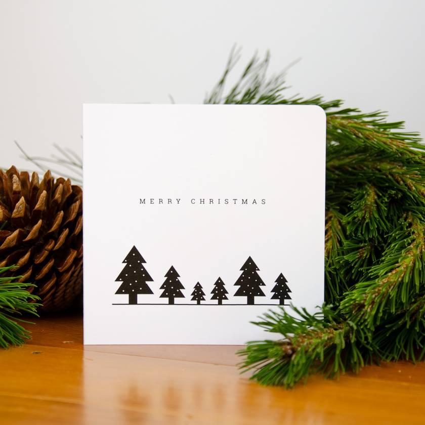 Christmas Card -  Trees