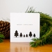 Christmas Card -  Trees