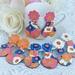 Retro Floral Vase Earrings