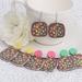 Lolly Cake Statement Earrings