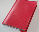 Upcycled Billboard Passport Cover - Pink!