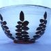 Small Tarawera button fern bowl