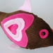 Chocolate fish rattle