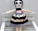 Hand painted doll