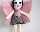 Hand painted fairy doll