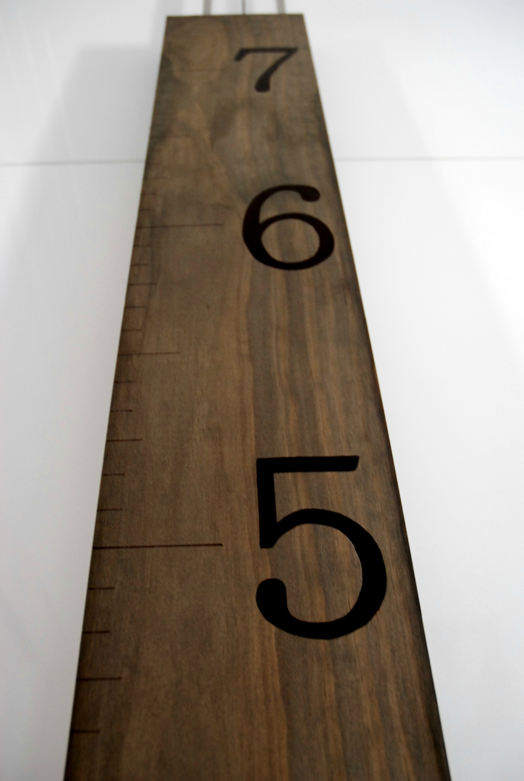 Wooden ruler growth chart felt geenschuldenfo Choice Image
