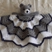 Cuddly Bear snuggie/lovey/ blanket/comforter