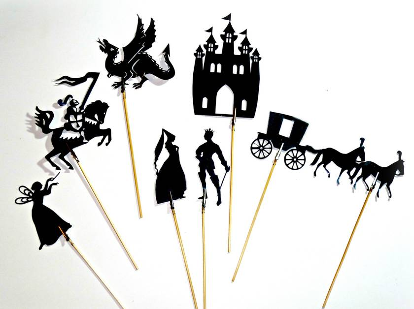 Fairytale Shadow Puppets Felt