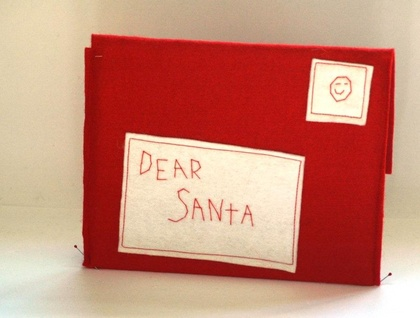 Dear santa christmas letter envelope christmas decoration or dear santa christmas letter envelope christmas decoration or ornament spiritdancerdesigns Image collections