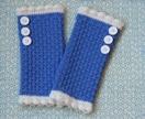 100% Merino Wool Wrist Warmers!!!