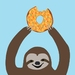 Orange Donut Sloth Gift Card