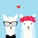 Mr & Mrs Llama Gift Card