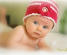 Strawberries & Cream Cloche Hat 4 -10 years.