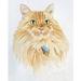Watercolour Pet Portrait A4 format