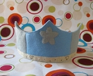 Wool felt play crown - Waldorf inspired
