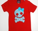 Skull & Cross Bones Kids Tee for girls