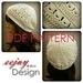 NZ Designer Crochet Womens Beanie Pattern PDF