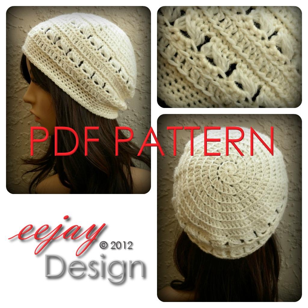 Nz Designer Crochet Womens Beanie Pattern Pdf Felt