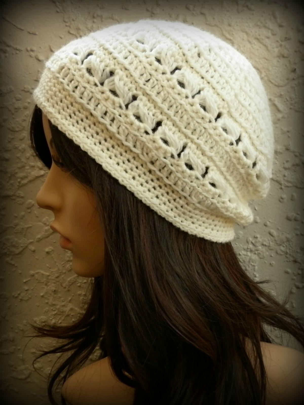 Free Crochet Hat Patterns Nz : NZ Designer Crochet Womens Beanie Pattern PDF Felt