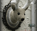 Reindeer Amigurumi Wall Animal