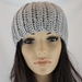 Soft Chunky Ribbed Wool & Alpaca Blend Crochet Beanie in Grey