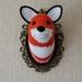 Faux Taxidermy Fox