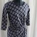 Chain Link Stretch Knit Dress Size 8