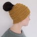 Messy Bun or Ponytail Beanie