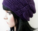 Dark Purple Gather Beanie!
