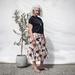Geisha midi snap wrap skirt size 8-12