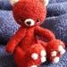 Handmade collectible Miniature Bear 'Pixie' OOAK