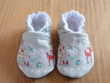 Bambi Baby Booties - 6-12 months