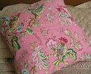 cushion cover with feather inner