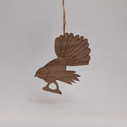 Fantail Bamboo Decoration