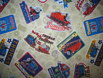 Train Caddy - Licensed Thomas the Tank Engine Fabric