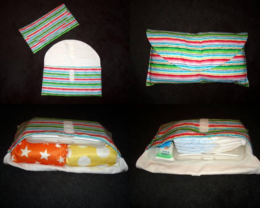 Modern Cloth Nappy Clutch