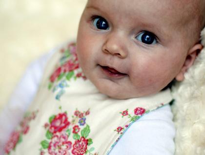 Boutique Baby Bibs - Romance Reversible
