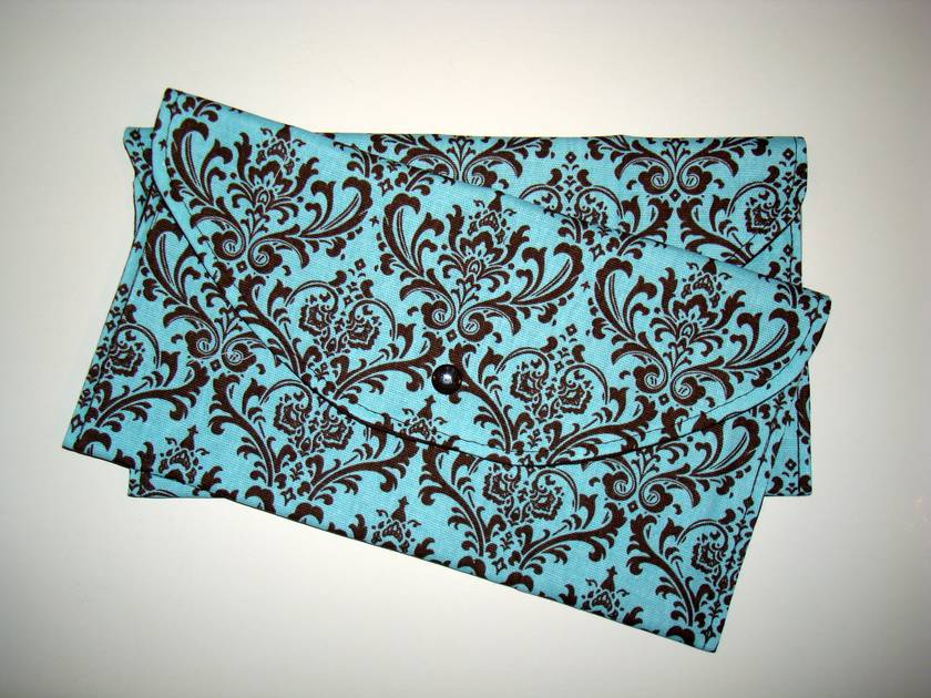 Boutique Nappy Clutch - Damask Collection