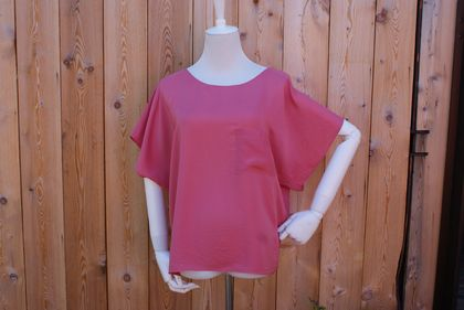 The Cornelia silk top